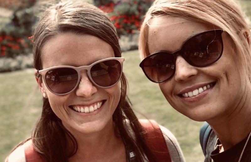 SMV-Lehrerinnen: Vanessa Bott und Alica Gsell