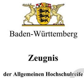 Baden-Württemberg: Zeugnis-Icon
