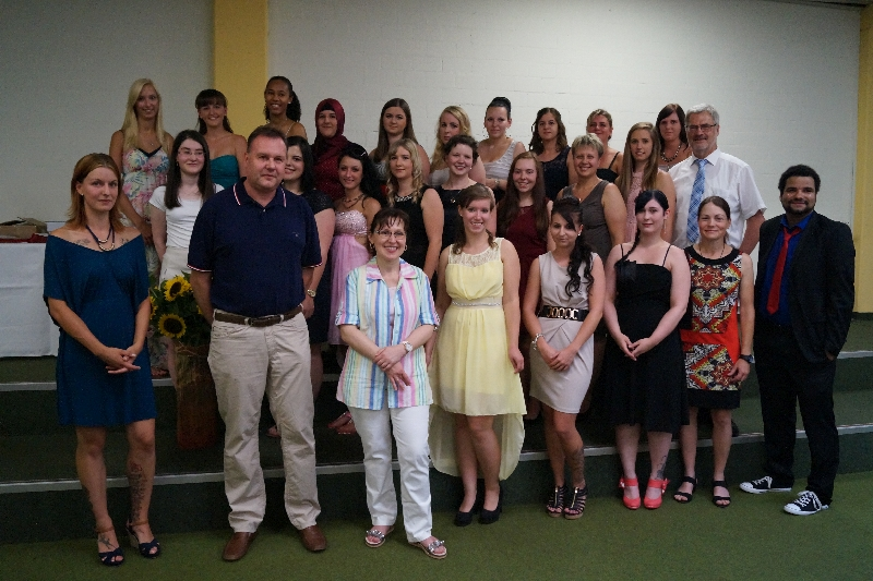 Gruppenbild Absolventen