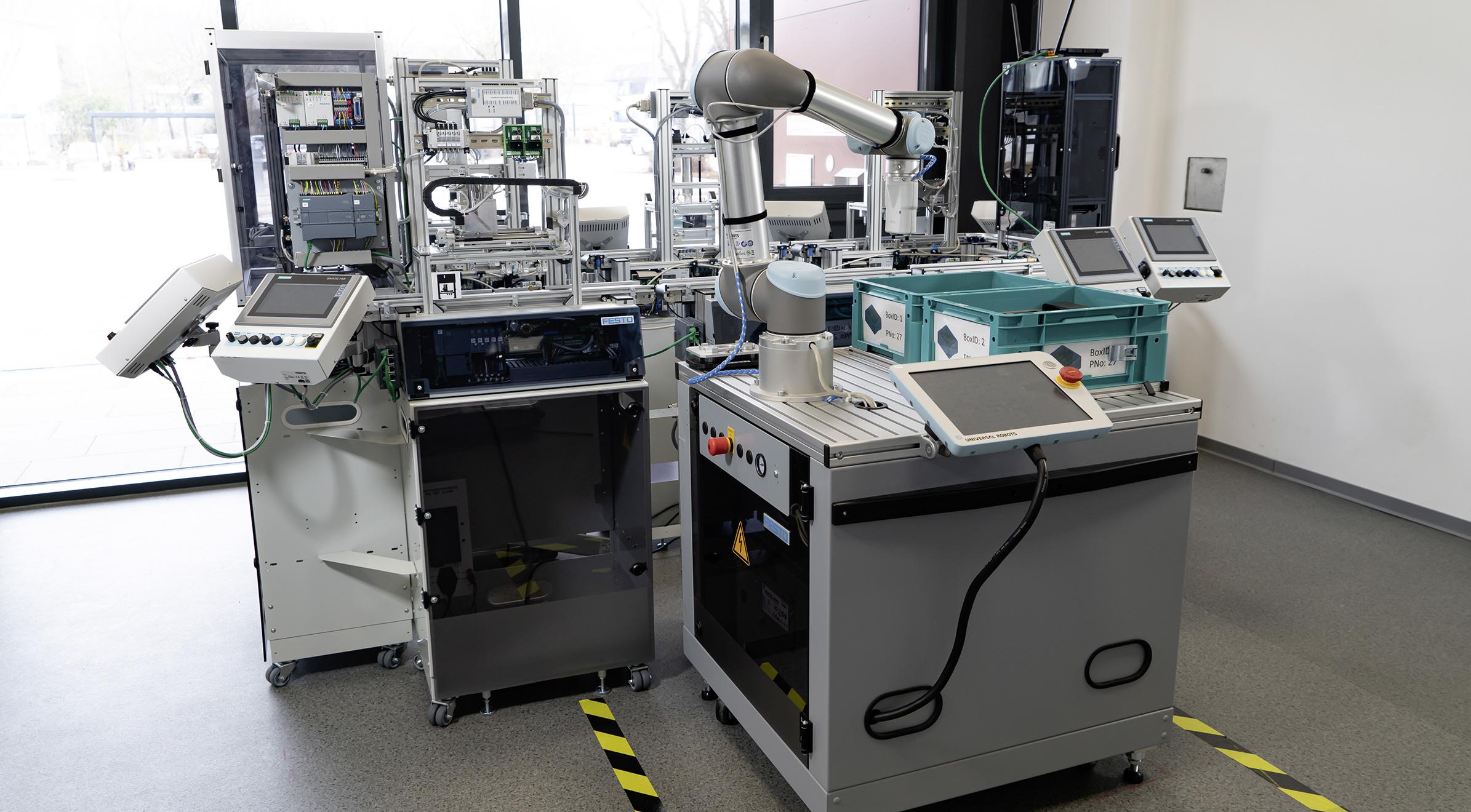 Industrie 4.0 Anlage der GSMGH