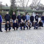 Schüler der R4PW und Lehrer