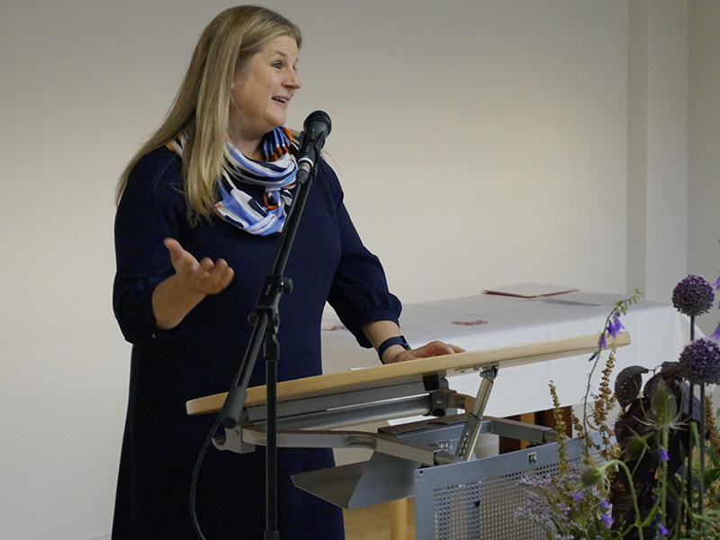 Abt. Gesundheit Fachlehrerin Beate Huchel